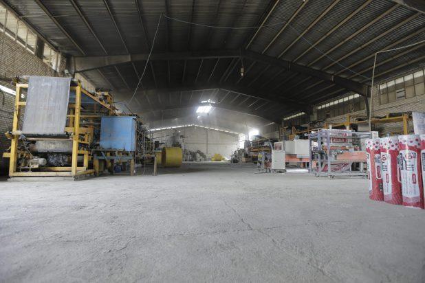بزرگترین کارخانه ایزوگام