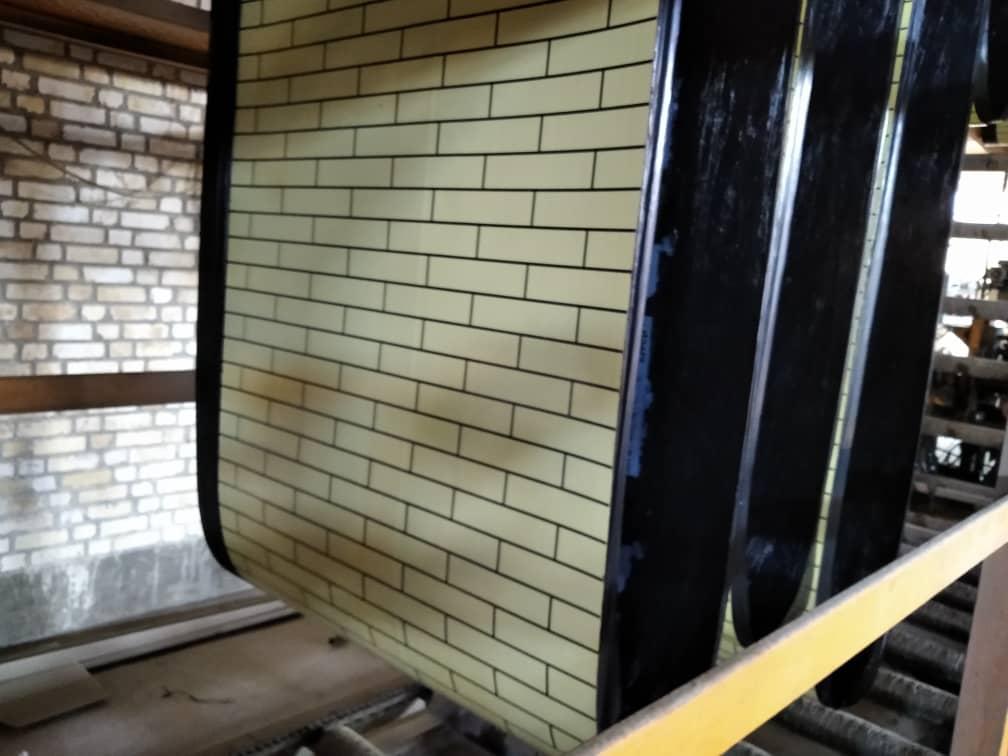 ایزوگام آجر کرم رنگ برای دیوار